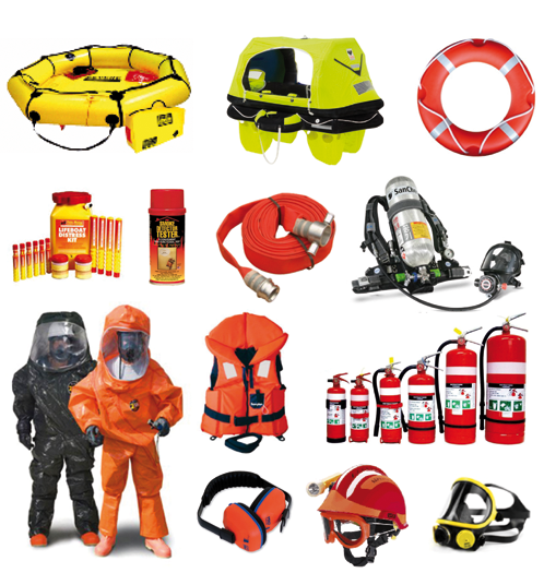 safety equipment onboard ship pdf